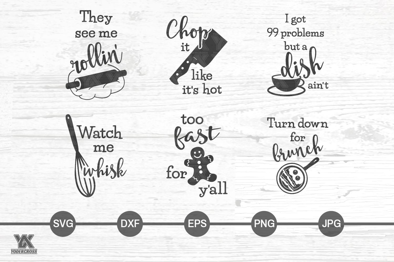 Kitchen SVG Bundle example image 2