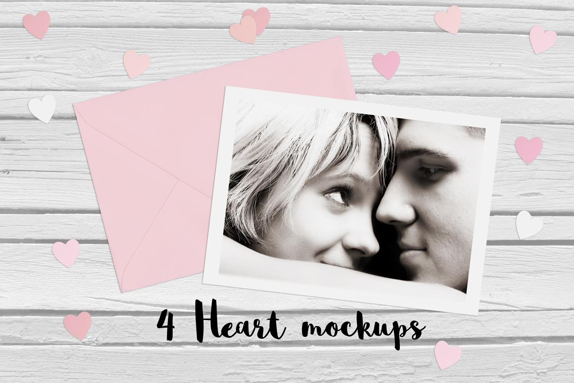4 Heart mockups example image 1
