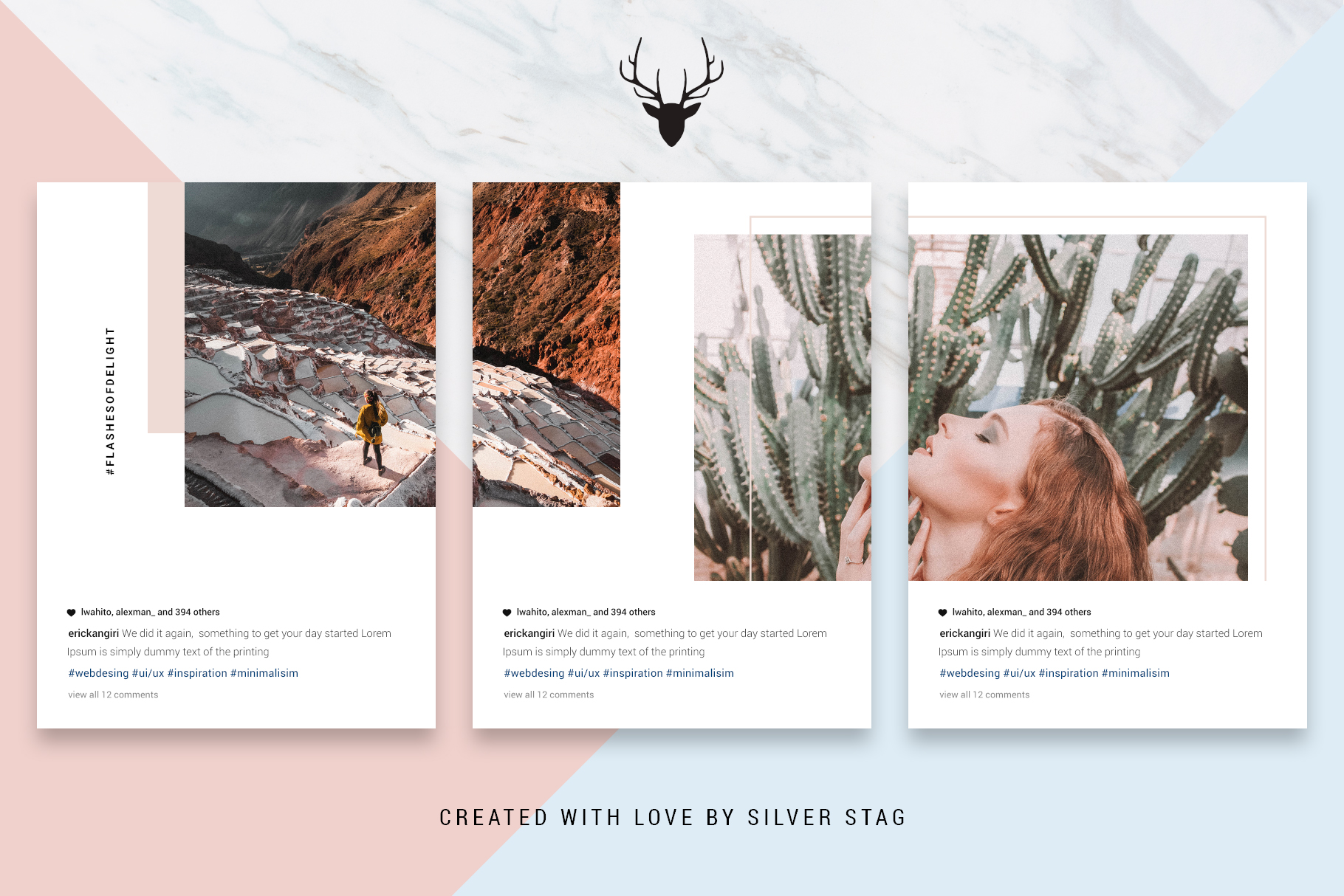 #InstaGrid 1.0 - Instagram Canva Puzzle Template example image 11