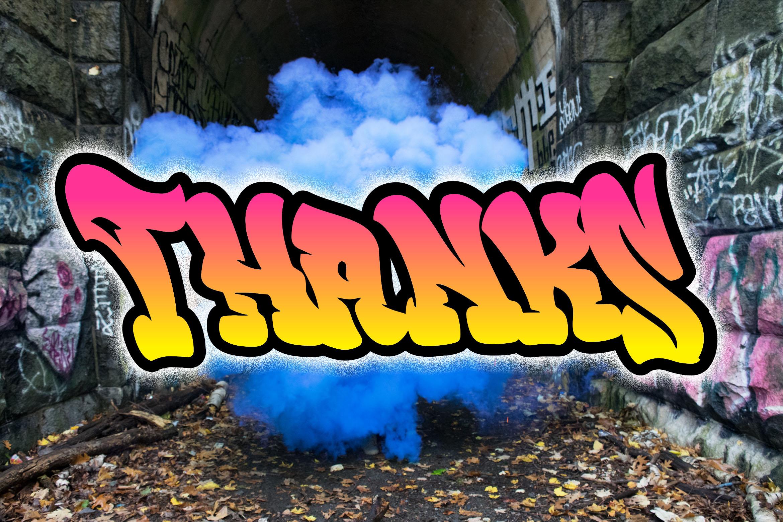 Rebeland Graffiti Font example image 5