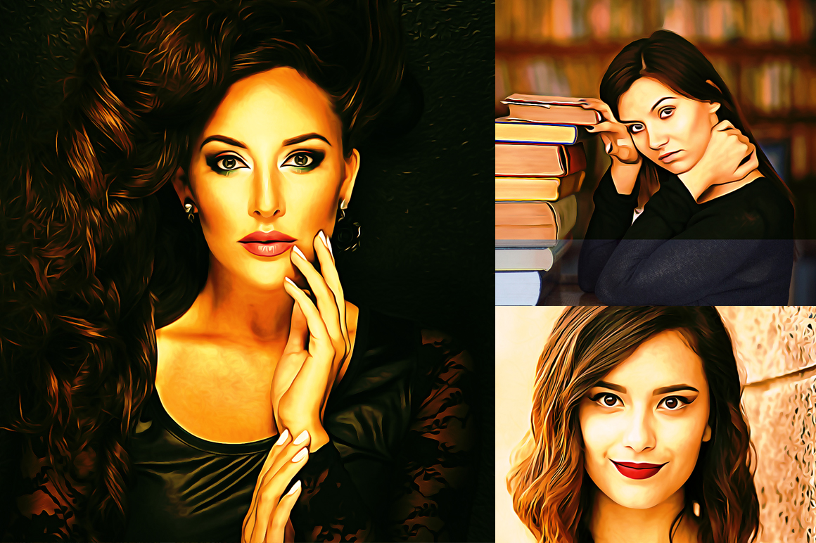 Realistic Oil Painting Effects v.5 example image 5