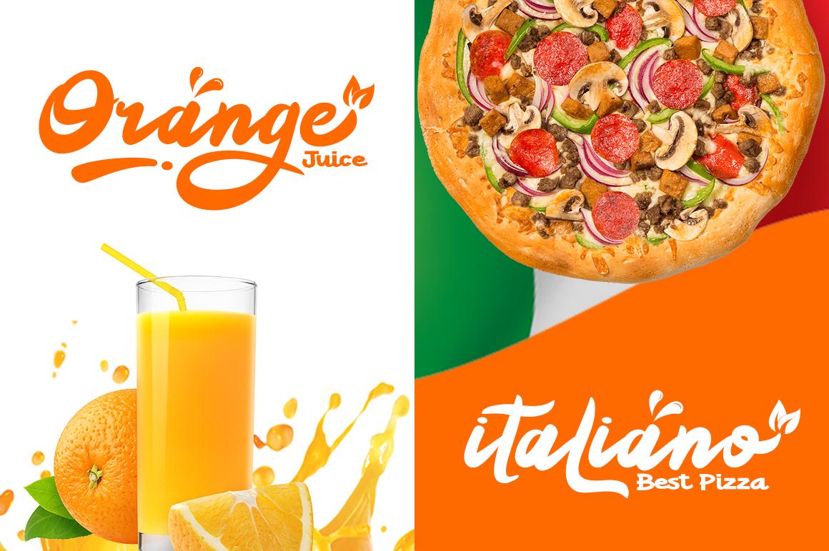 Orange Squash Script example image 4