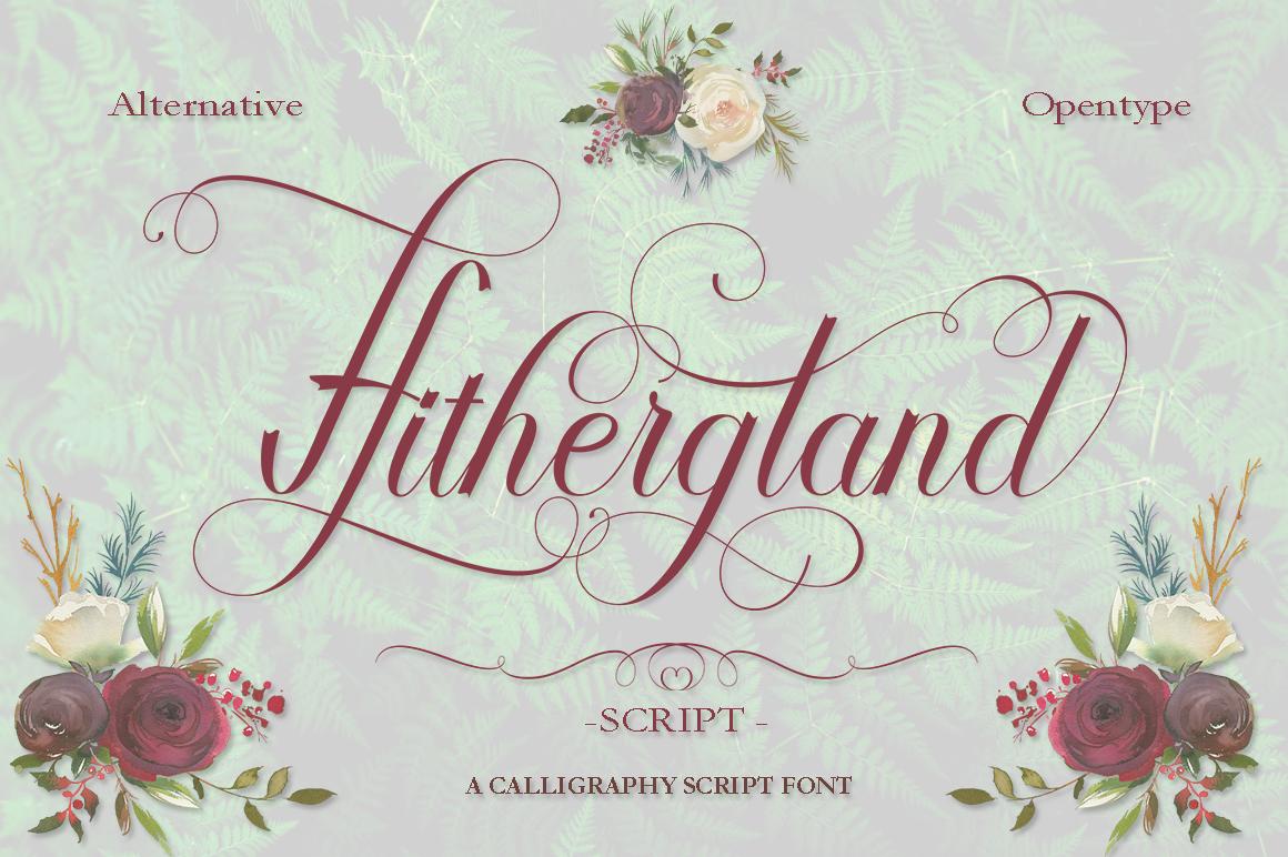 Hithergland Script example image 1