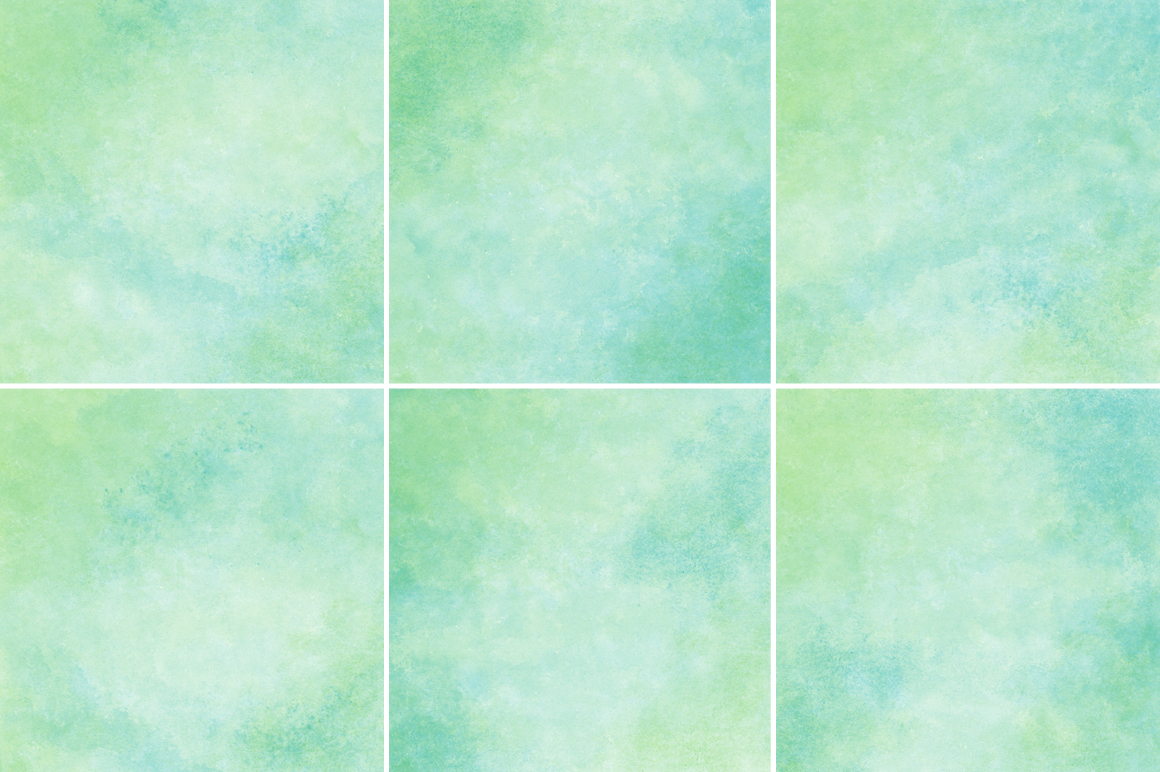 Green and Blue Watercolor Texture Backgrounds example image 3