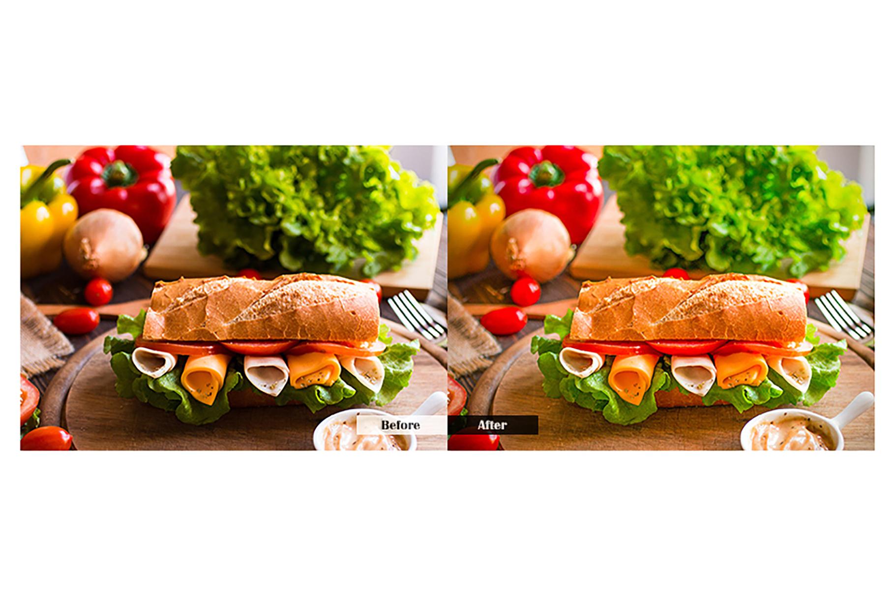 Food Lightroom Mobile Presets example image 3