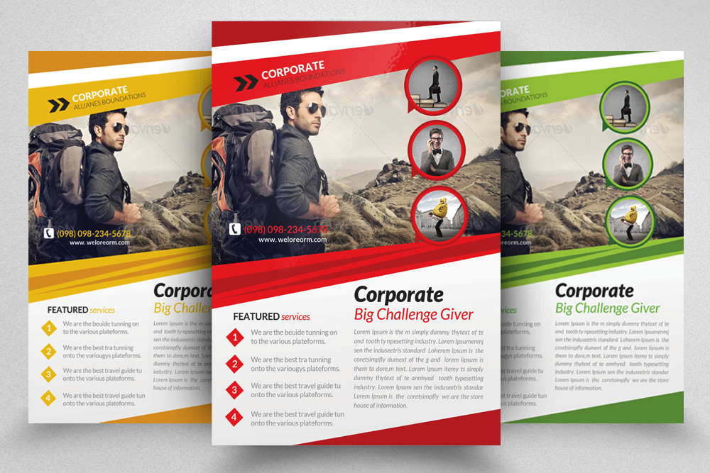 6 Creative Business Flyers Bundle example image 3