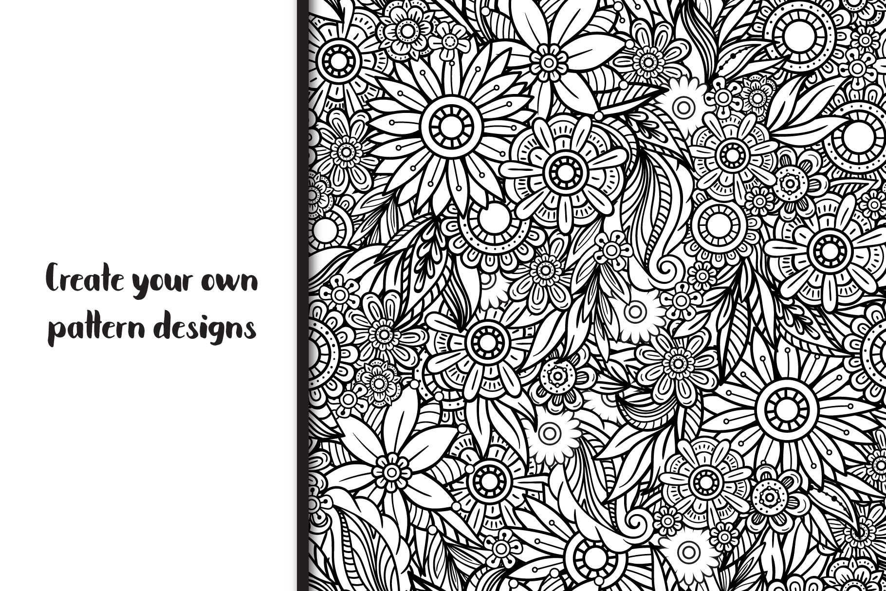 Floral Doodles Collection example image 10