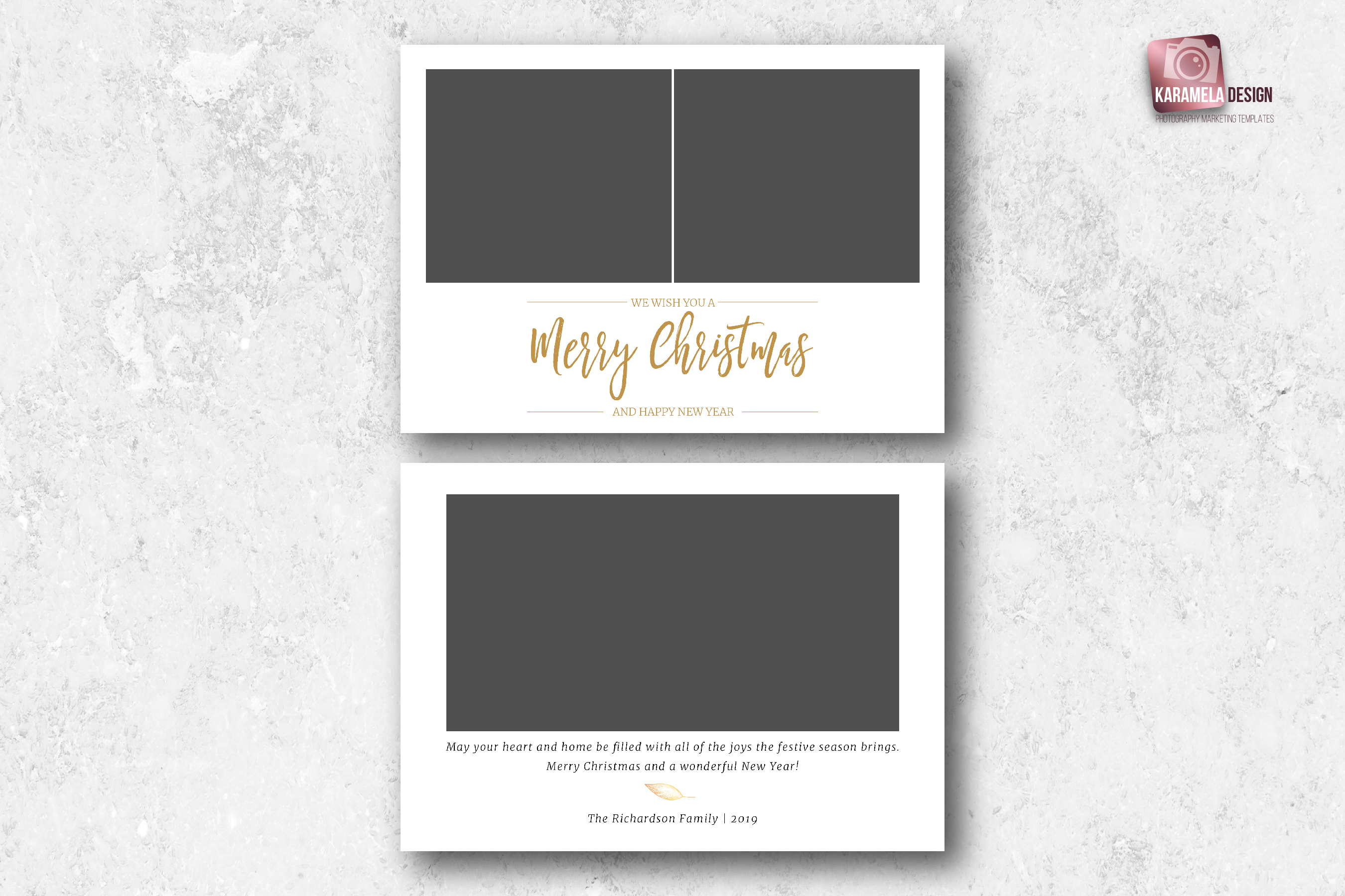 Christmas Card Template example image 4