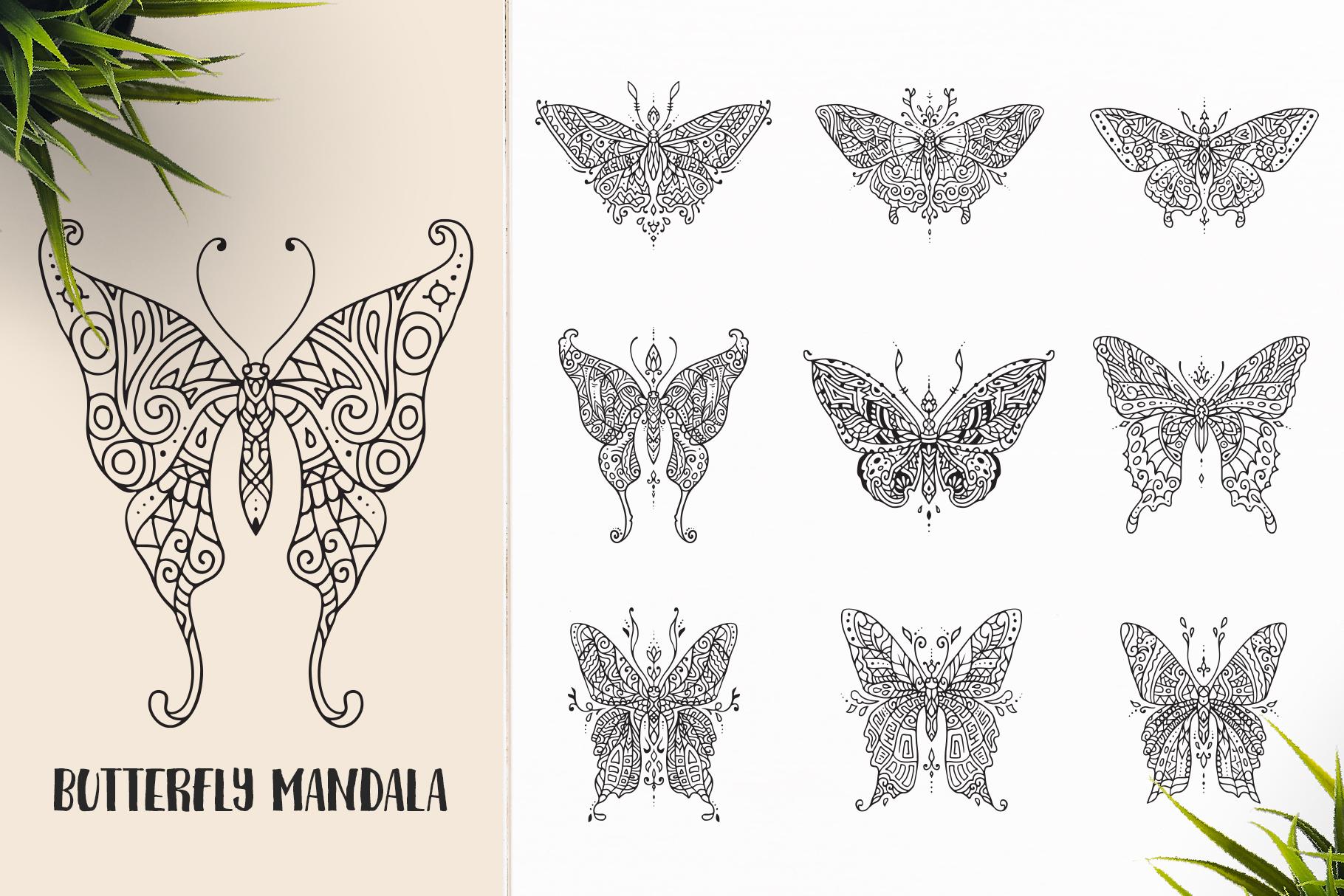 530 Vector Mandala Ornaments Bundle example image 9