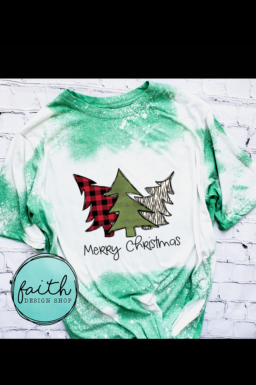 Merry Christmas Trees, buffalo plaid, zebra print example image 8