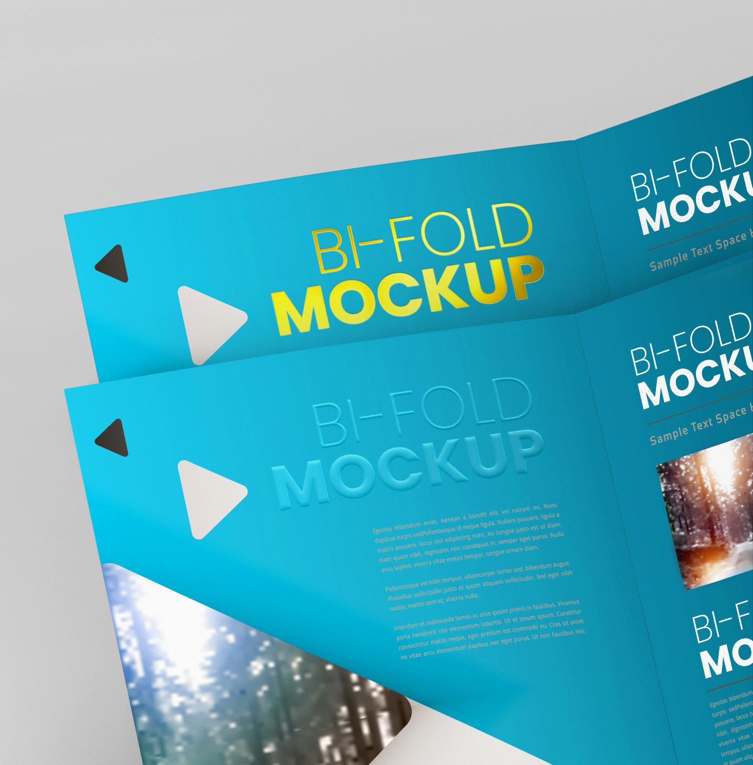 A4 Bifold Mockups V2 example image 17