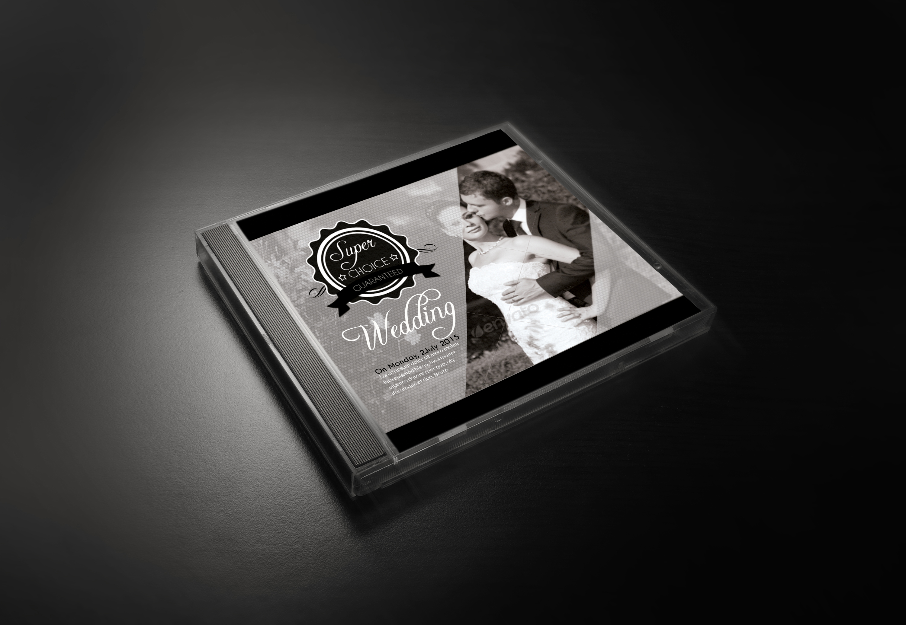 Wedding CD Cover Template example image 2