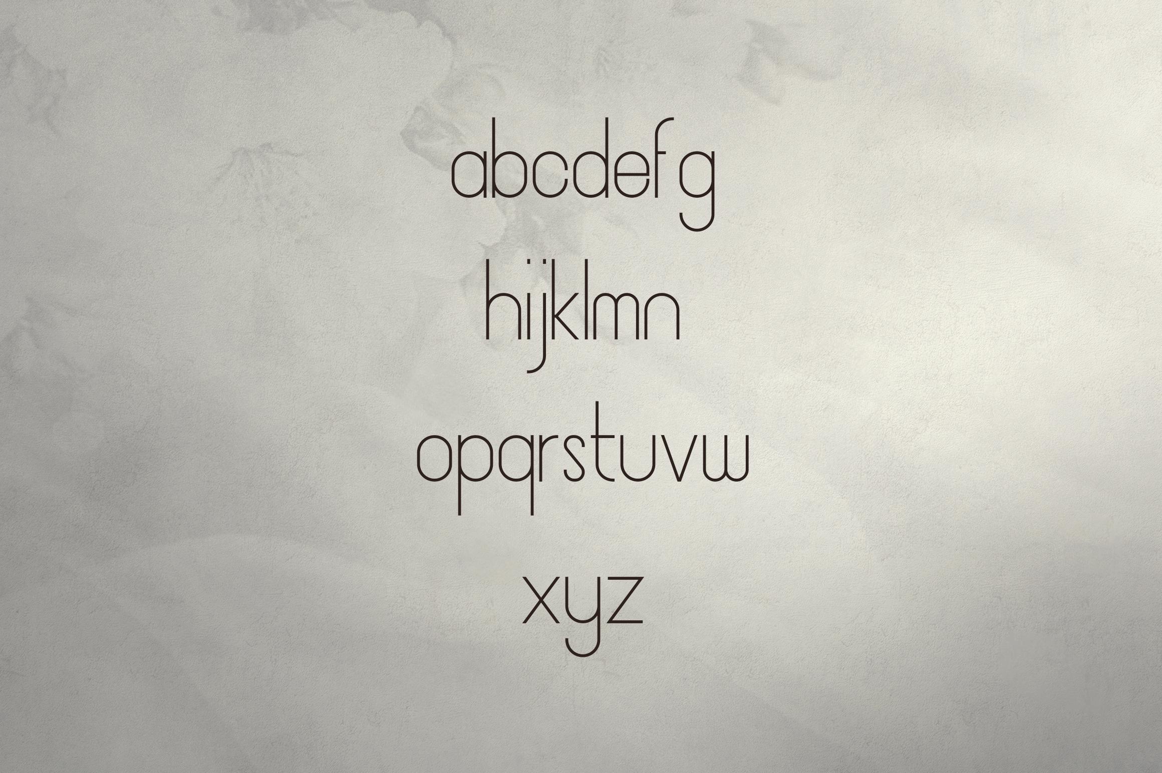 JaneDoe Sans Serif font example image 7