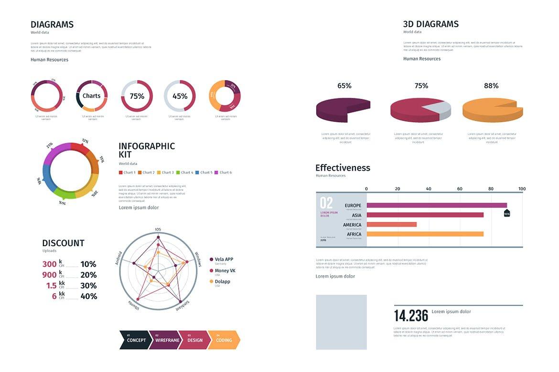 Modern infographics vol.01 example image 8