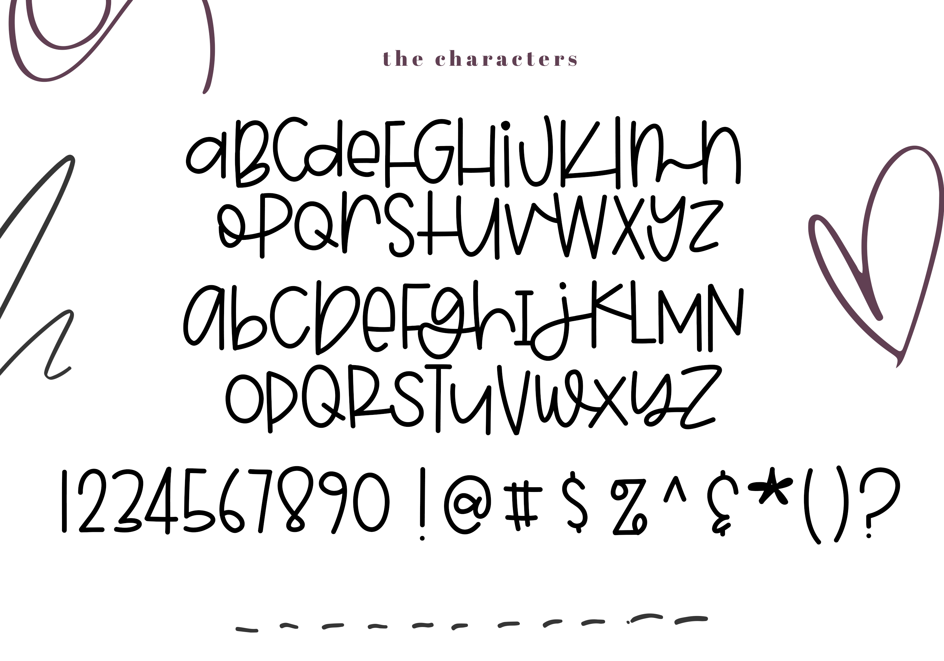 Blackberry - A Fun & Mismatched Font example image 7