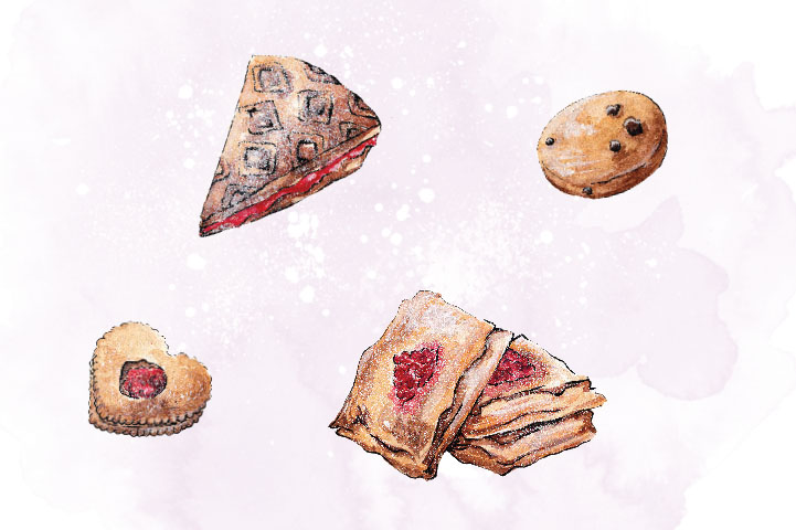 Pastry Set Clip Art example image 2