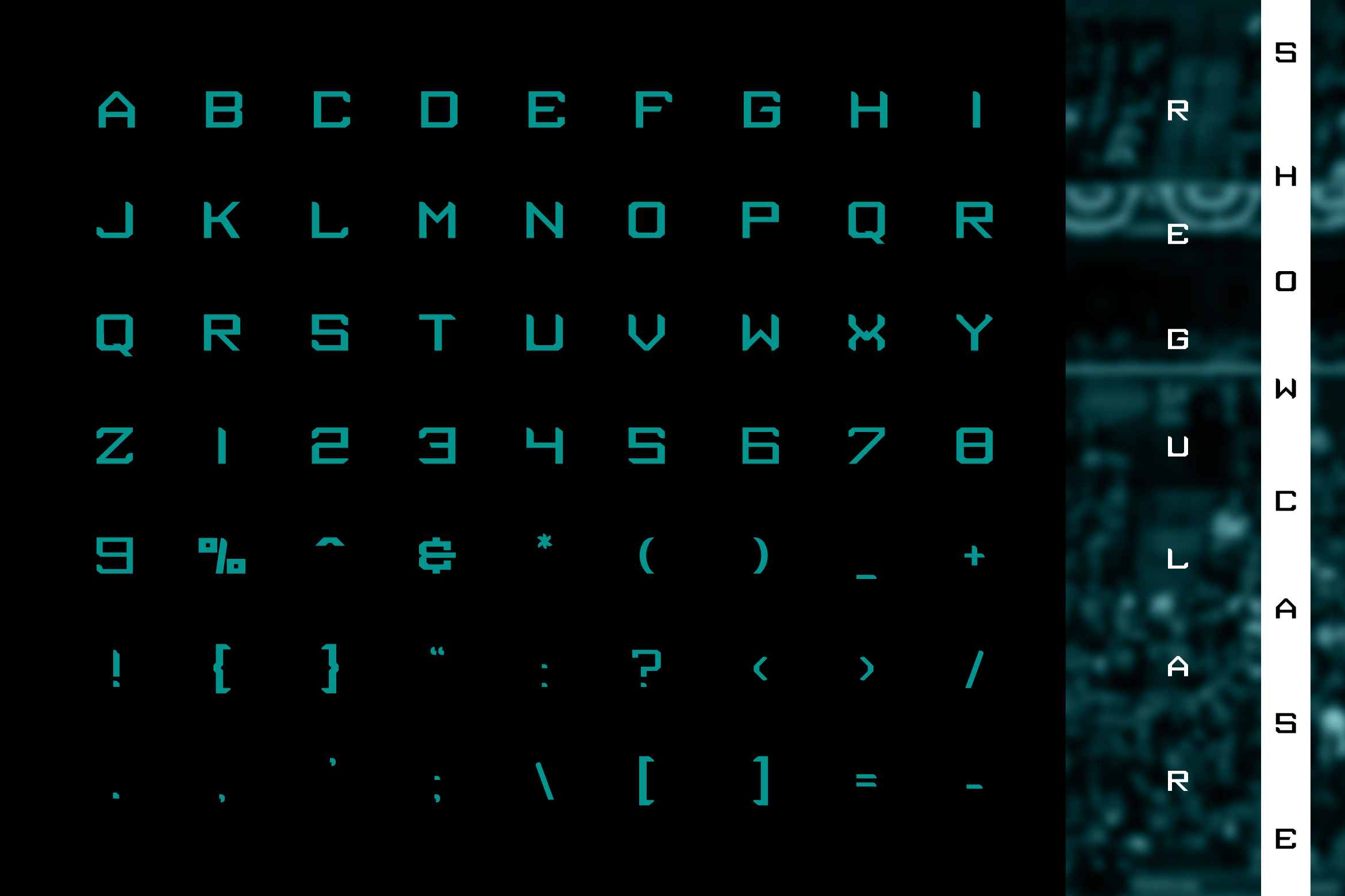 Tenro Display Font example image 3
