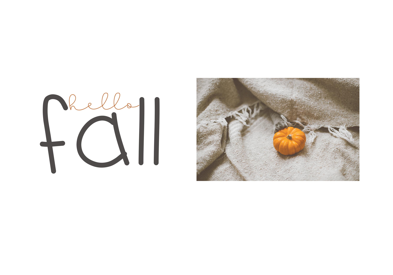 Pumpkin Season - A Cute Handwritten Font example image 4