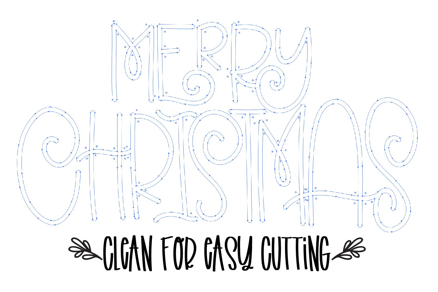 Christmas Dingbats - A font filled with Christmas symbols example image 2