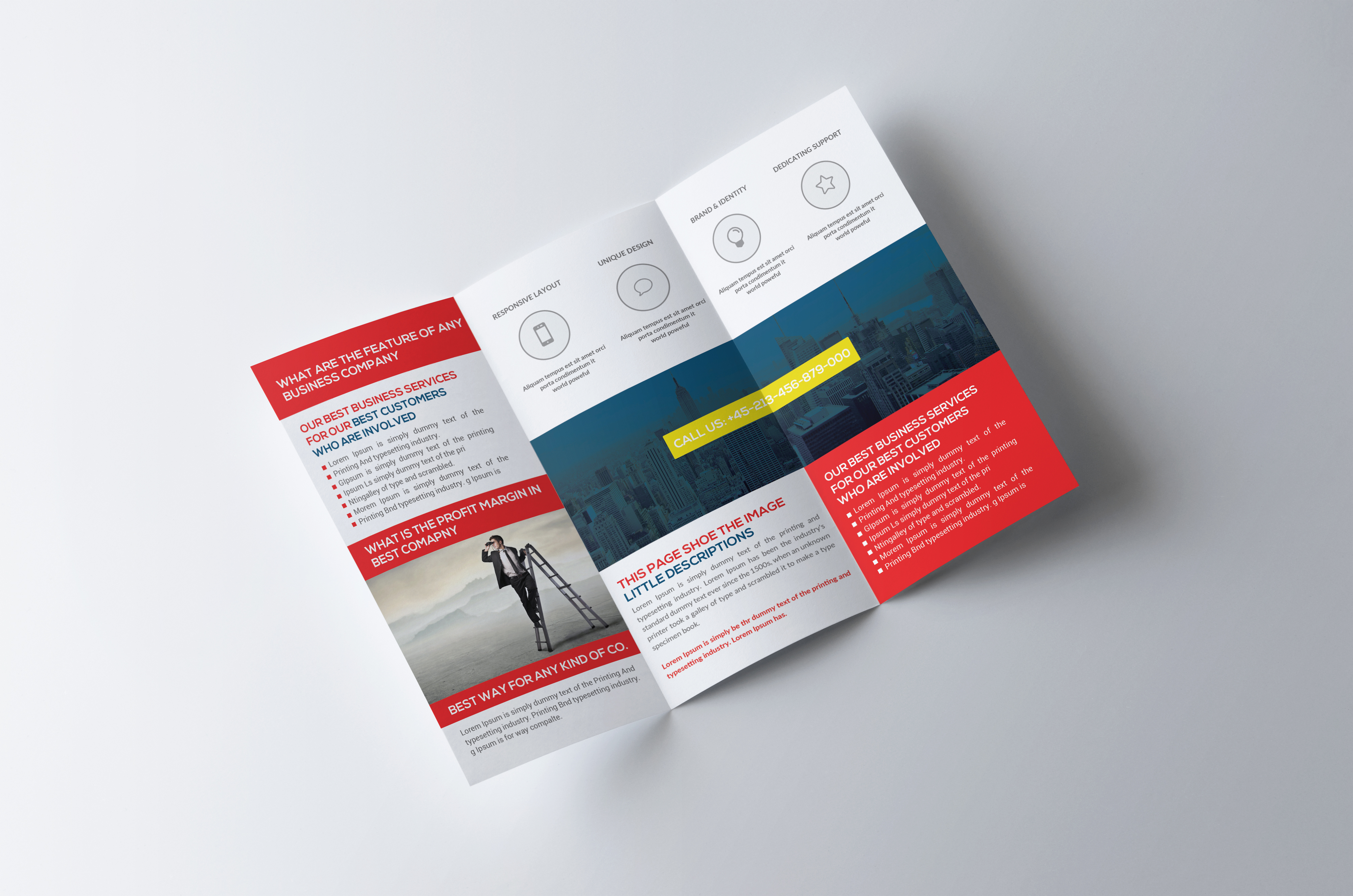 Trifold Brochure example image 2