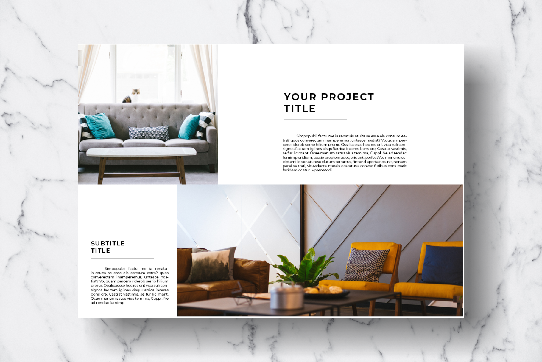 Magazine Template Vol. 11 example image 9