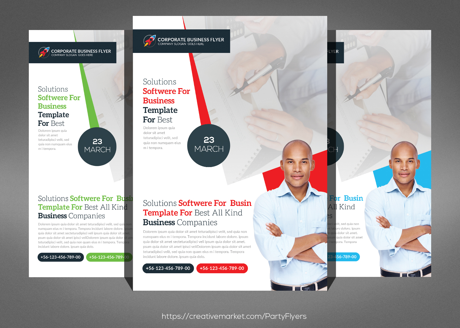 Best Business Flyers Bundle example image 3