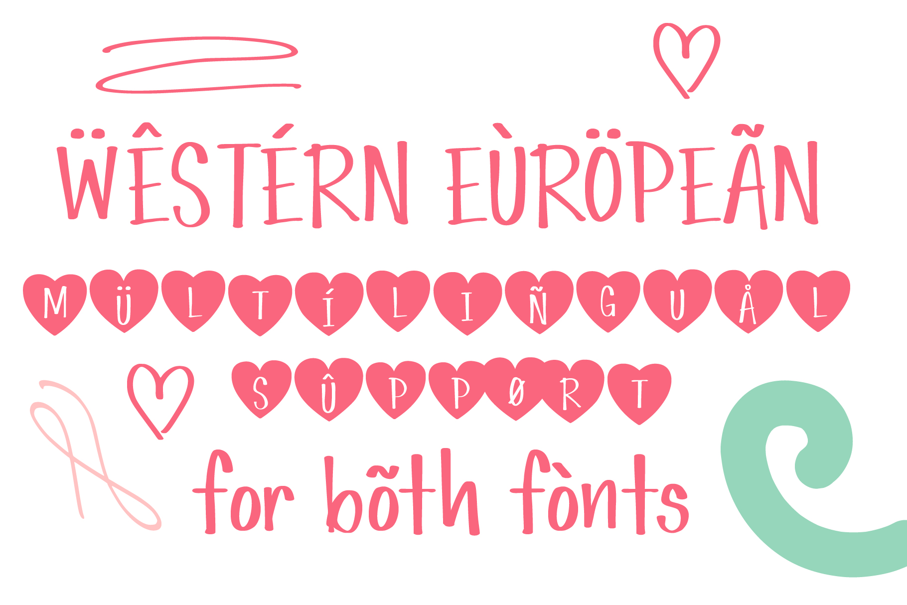Simple Love Font example image 4