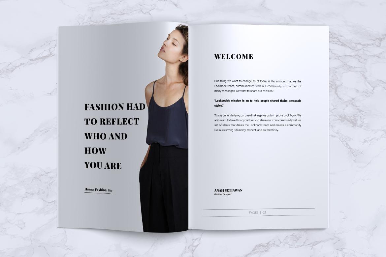 BLANKS   Minimal Lookbook/Magazines example image 4