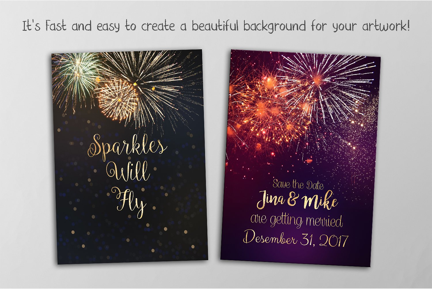 100 Fireworks Overlays example image 3
