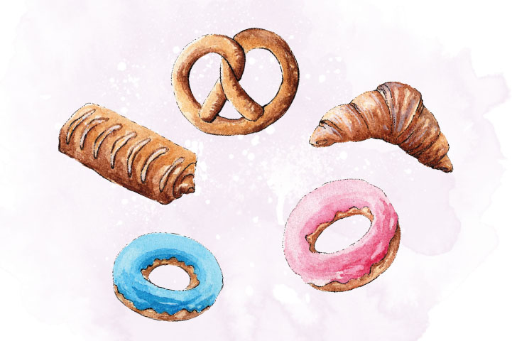 Pastry Set Clip Art example image 4