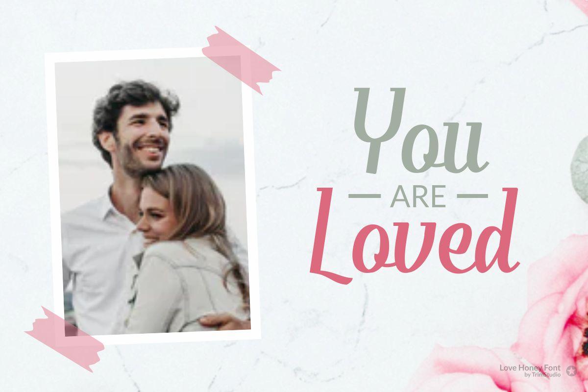 Love Honey - Modern Script Font example image 5