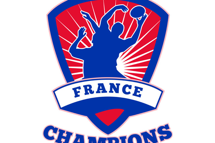 Rugby Player France Champions example image 1