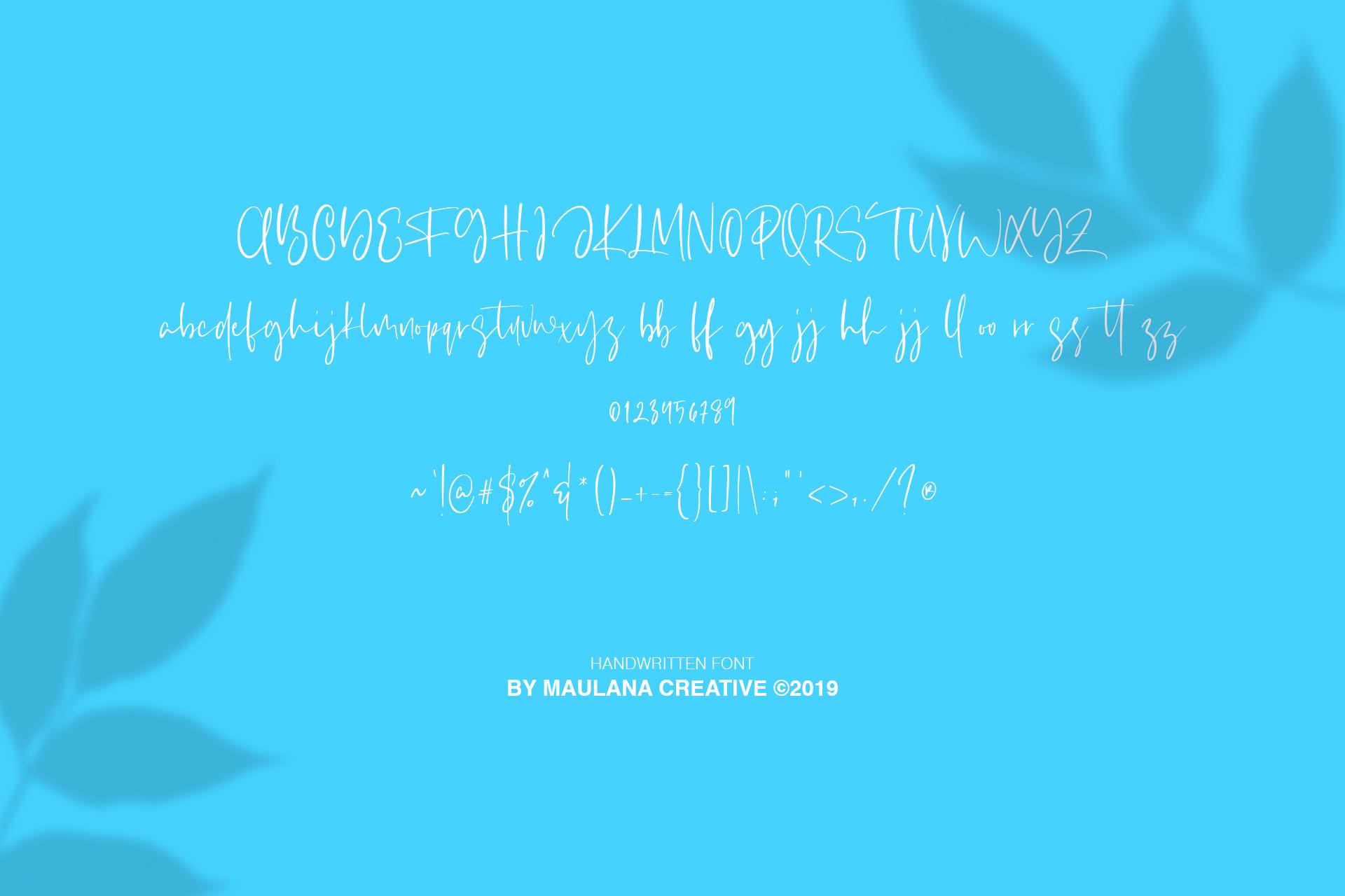 Sourbites Handwritten Font example image 9
