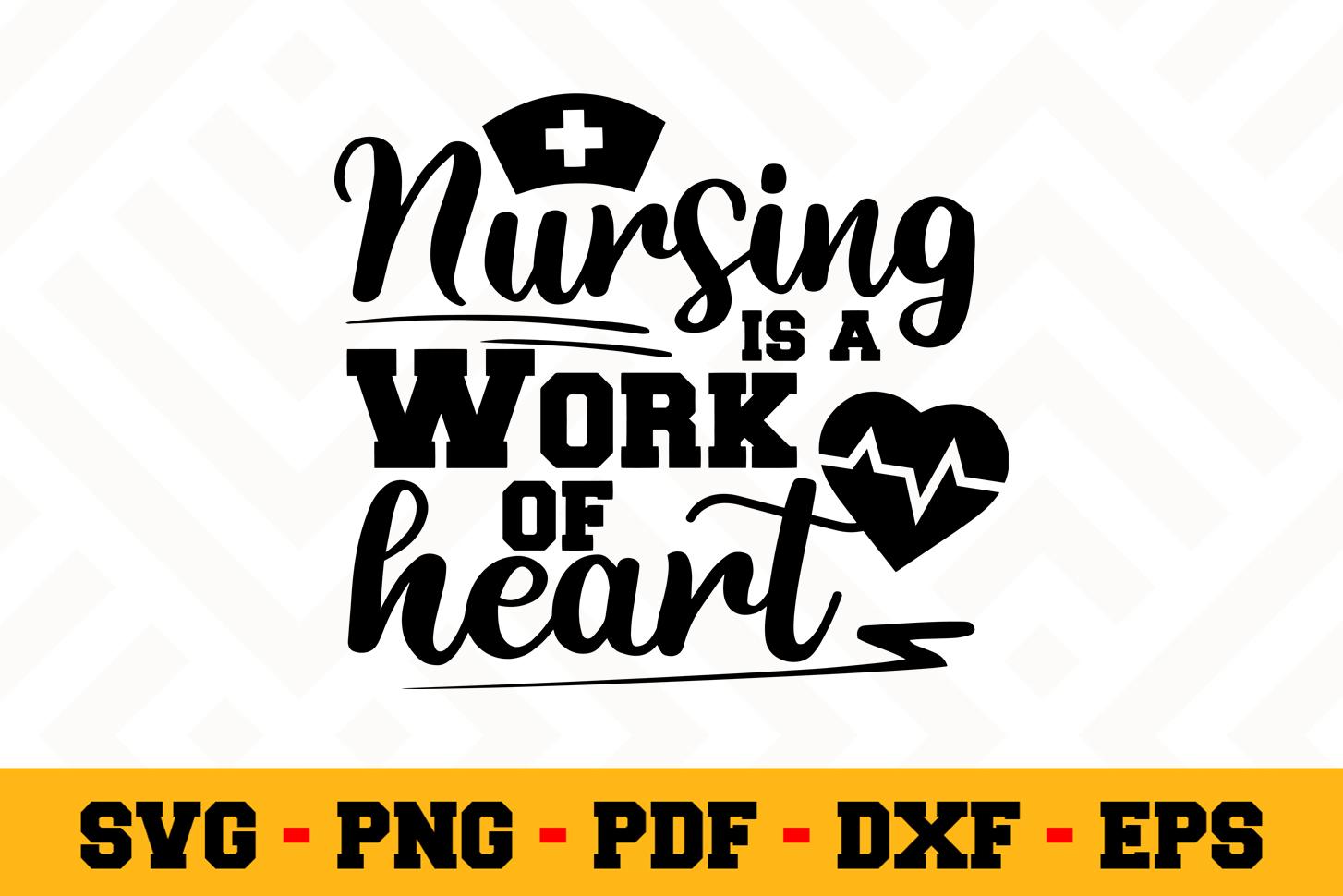 Nurse SVG Design n594   Nurse SVG Cut File example image 1