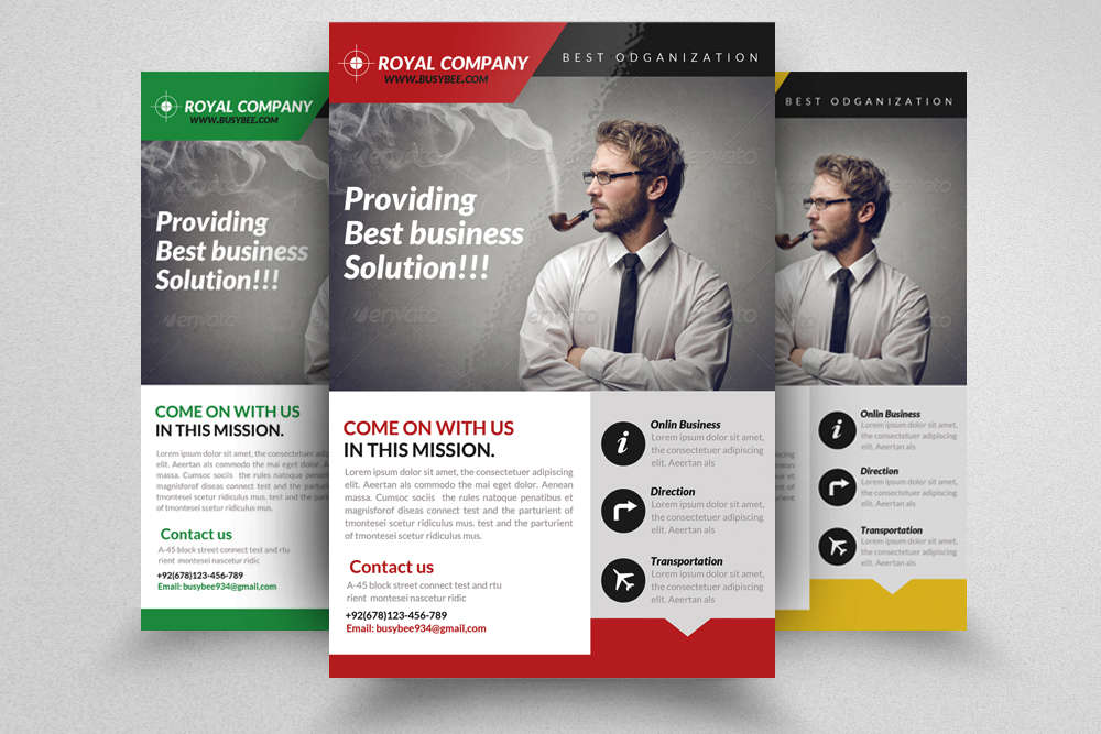 6 Creative Business Flyers Bundle example image 5
