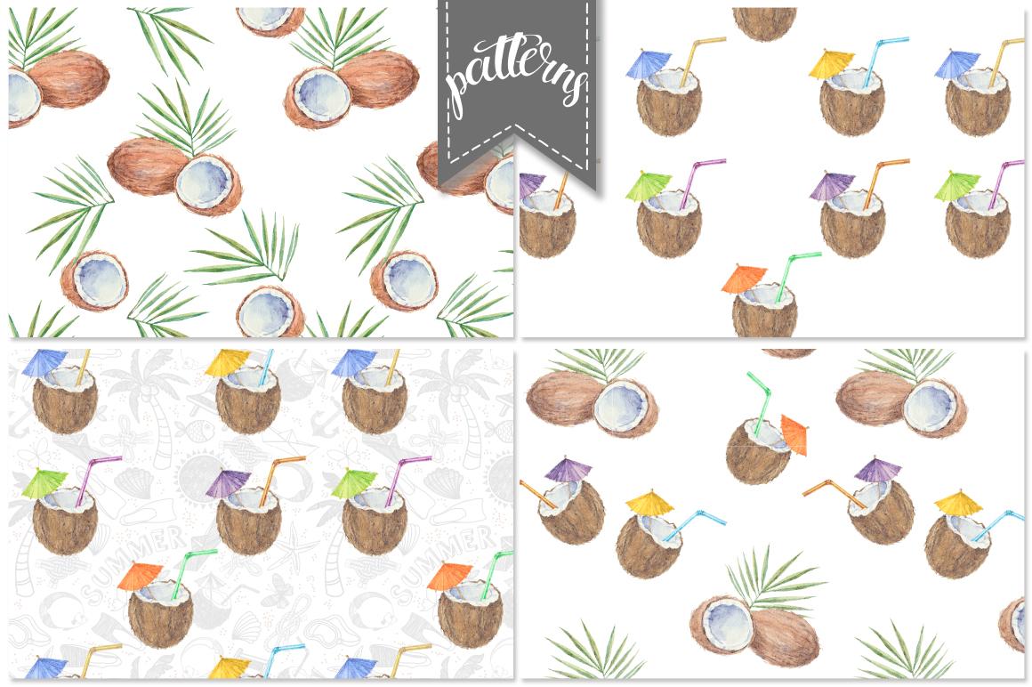 Coconut set example image 3