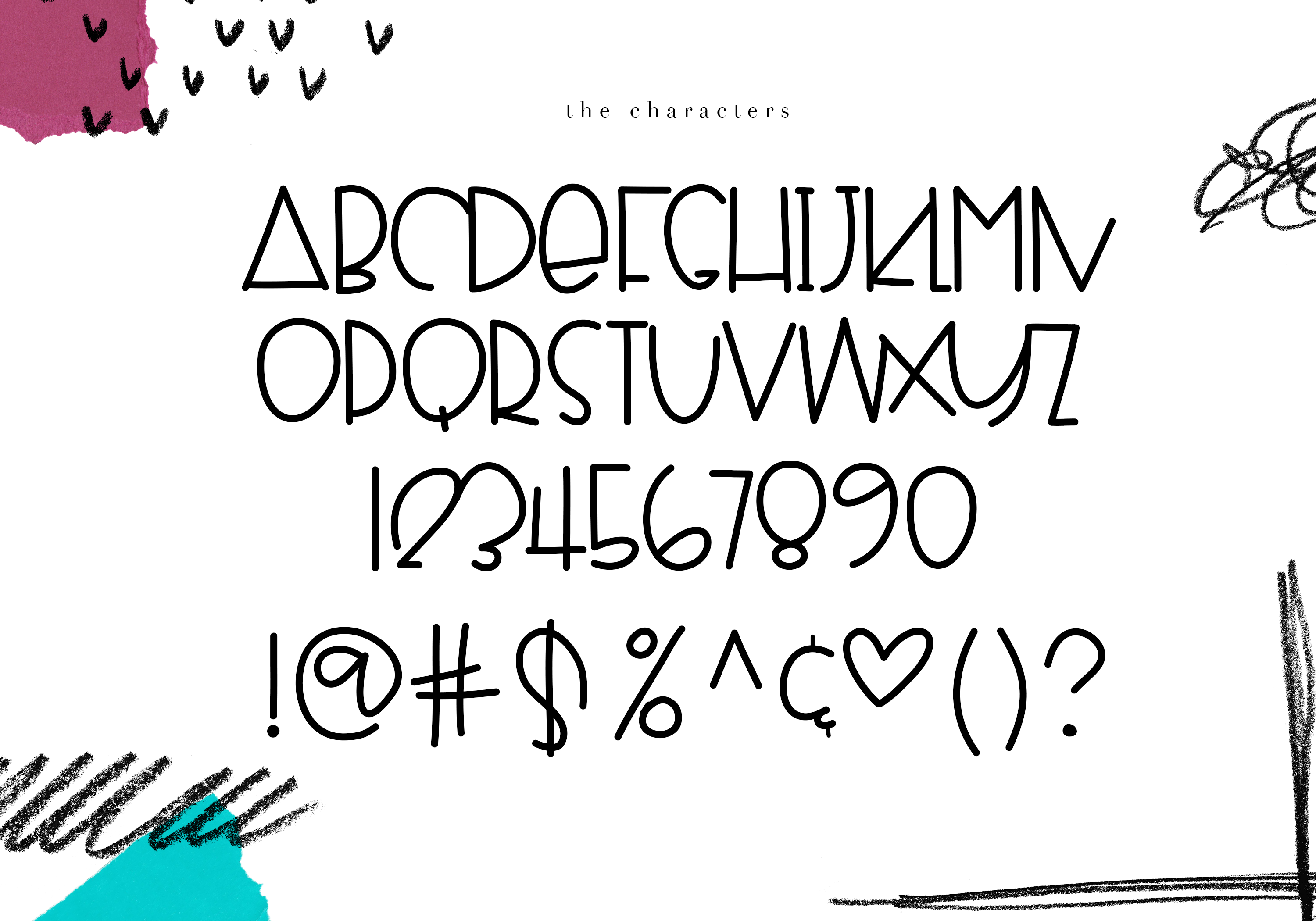 Fragments - A Fun Handwritten Font example image 9