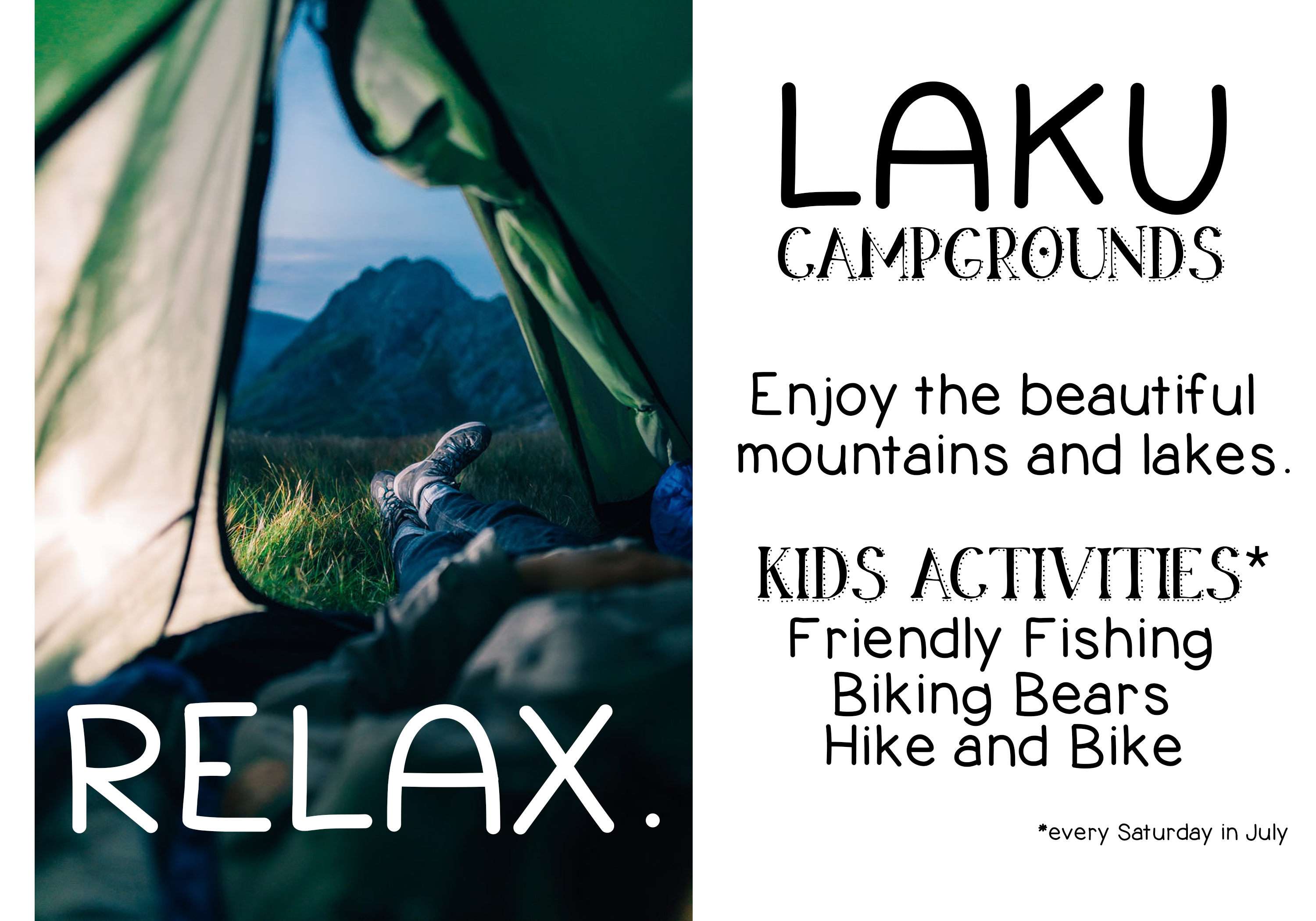 Going Camping - A Handwritten Font example image 3