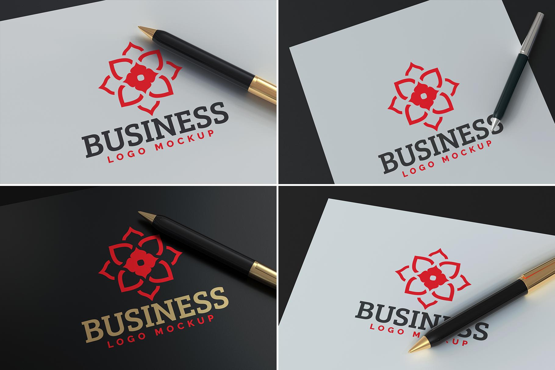100 Logo Mockups Bundle Vol.5 example image 8