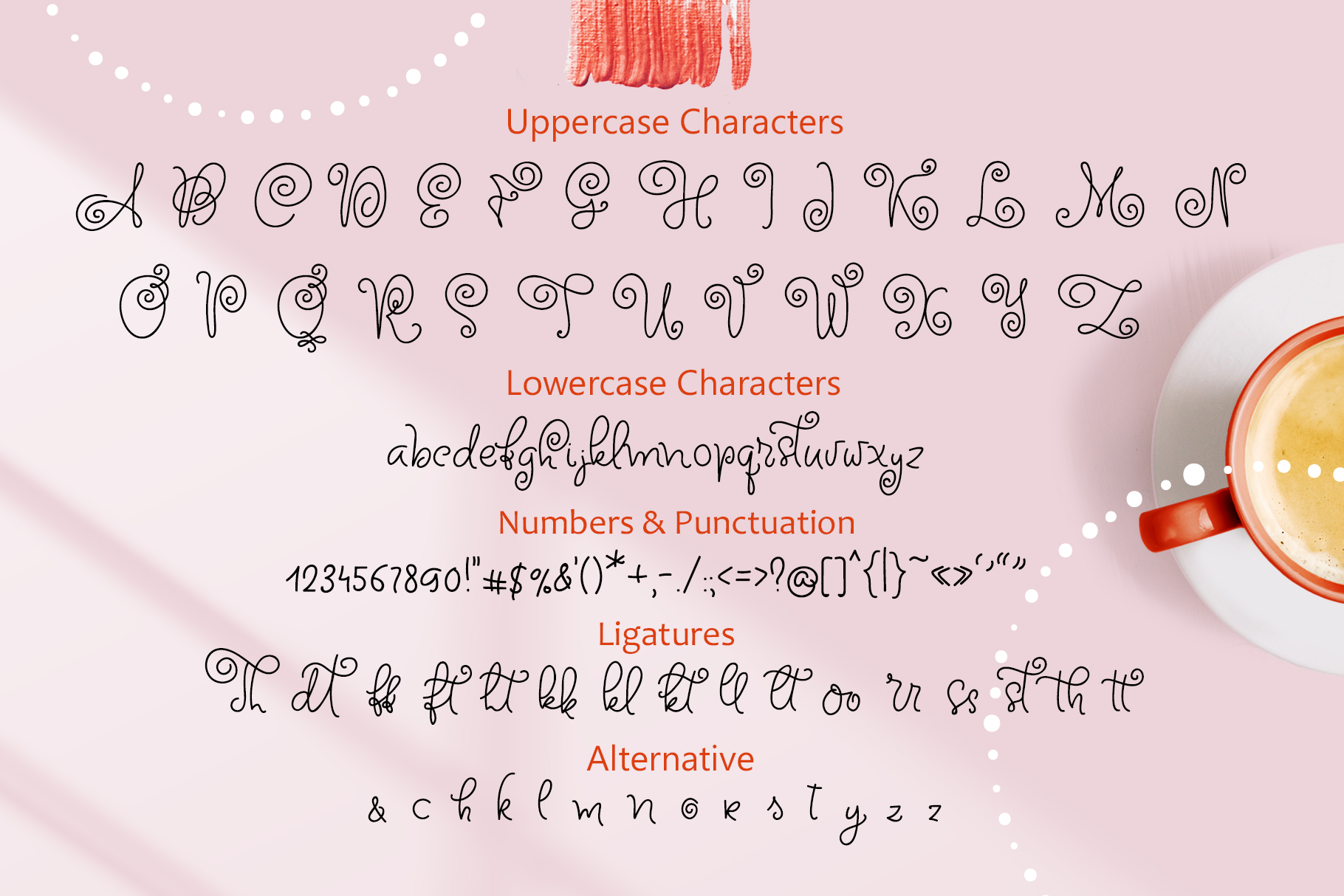 Circle Around handwritten Kids Font example image 7