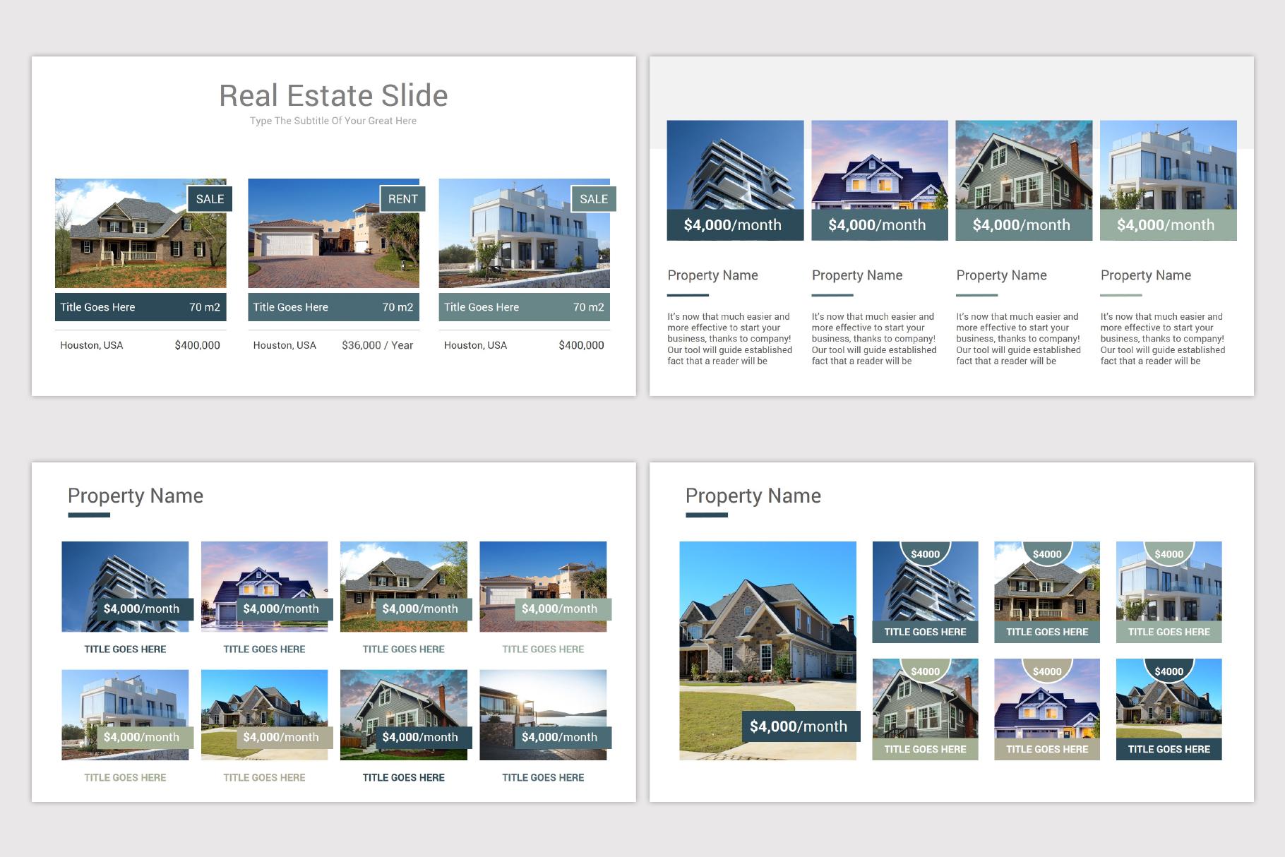 Real Estate Google Slides Template example image 9