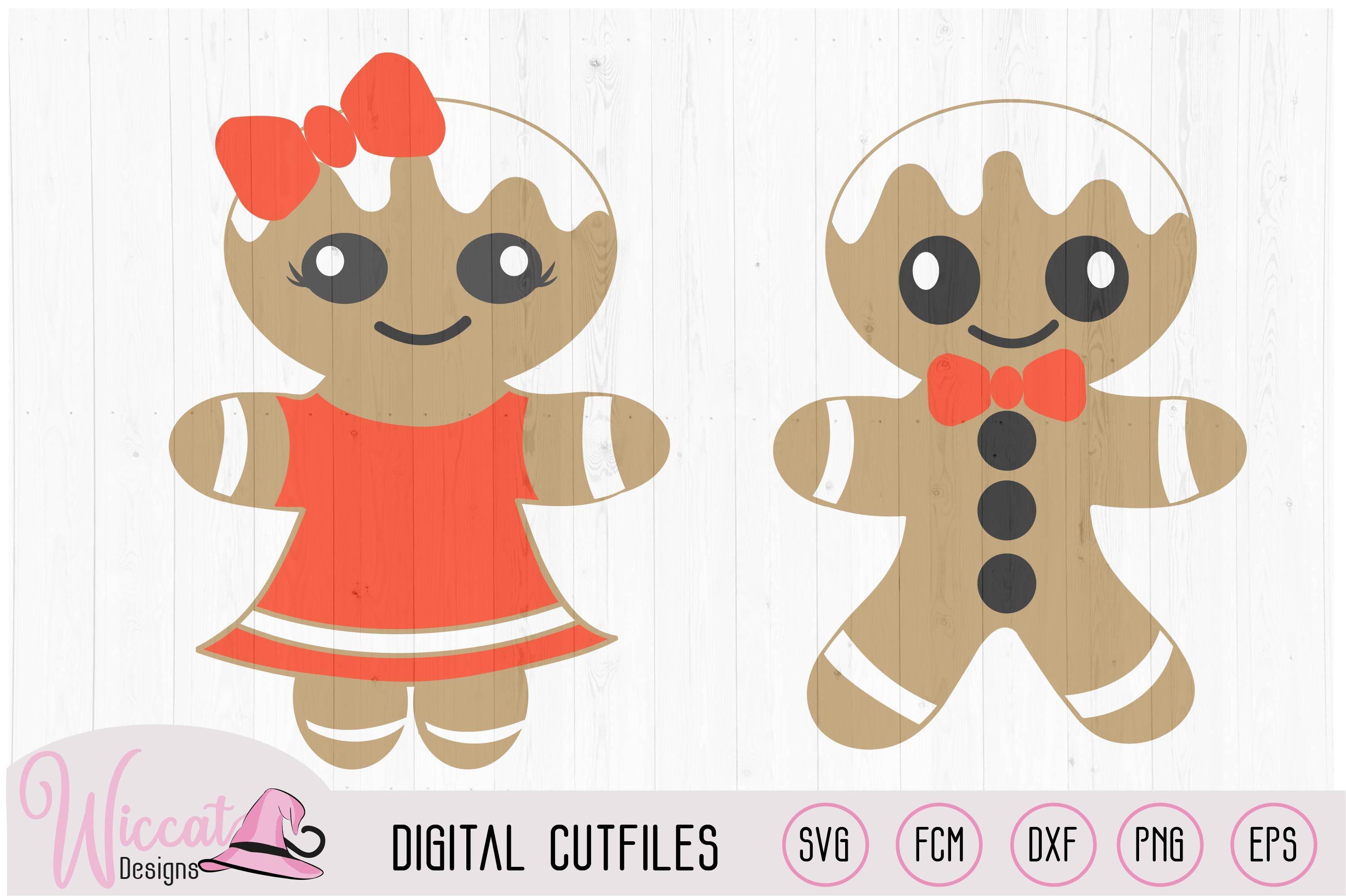 Gingerbread Man bundle, home decoration, example image 2
