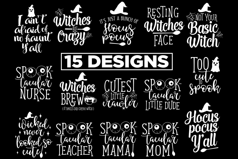15 Halloween Designs 5 Halloween Printable example image 2