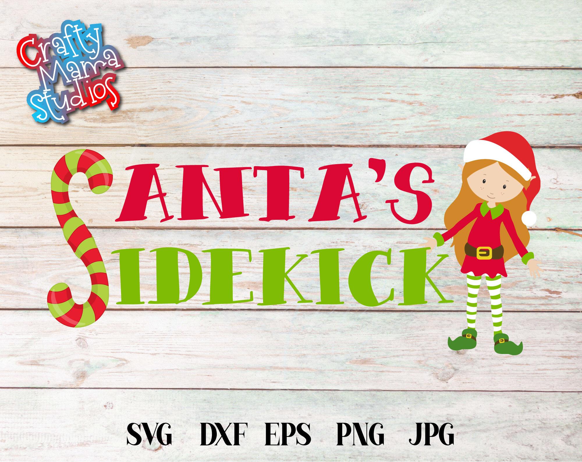 Christmas Elf Bundle, Elf SVG Sublimation, Elfin Cool SVG example image 5