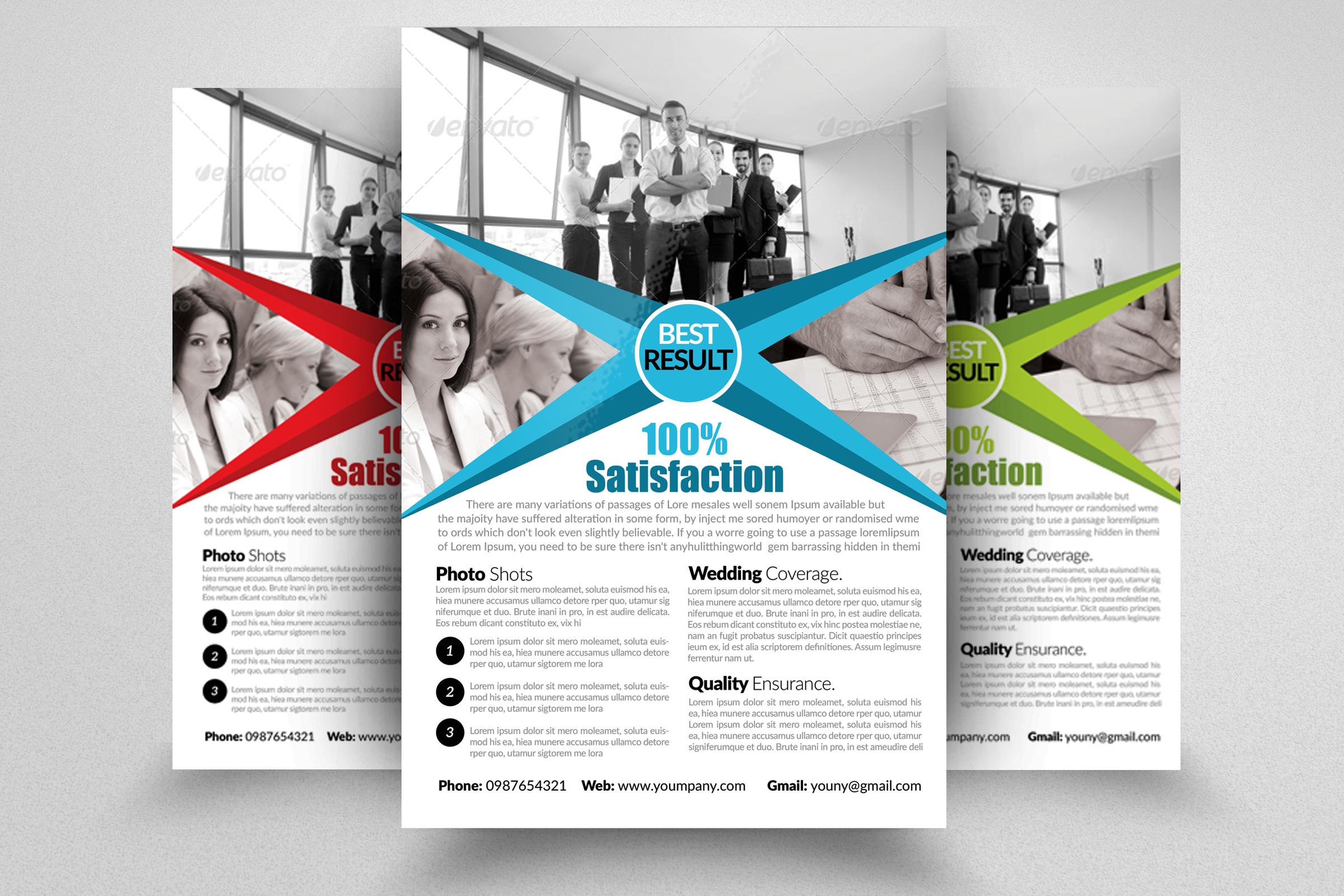 7 Business Flyers Bundle example image 3
