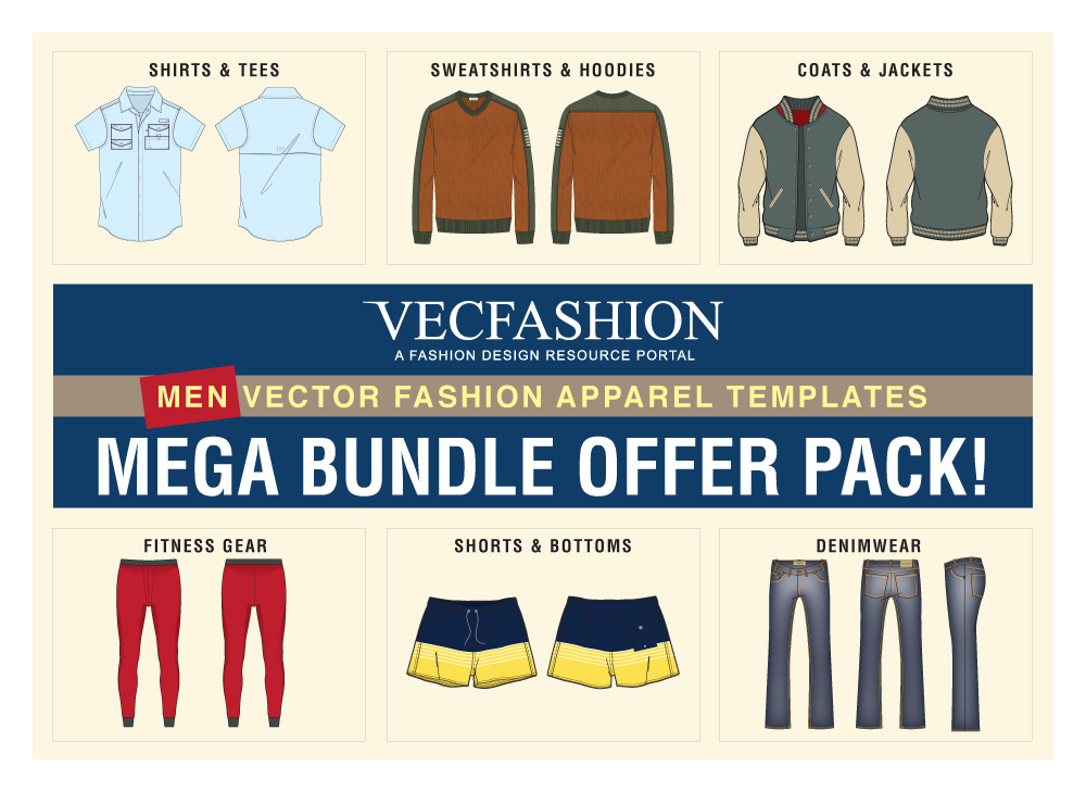 Men Fashion Templates Mega Bundle Offer Pack! example image 1