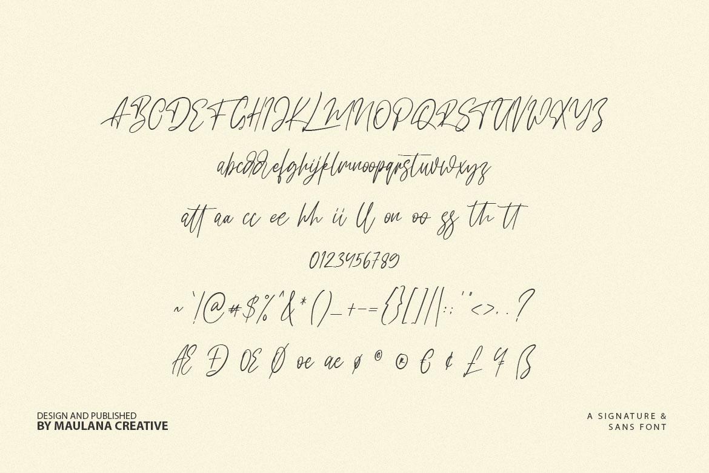 Dillandio - Font Duo example image 10