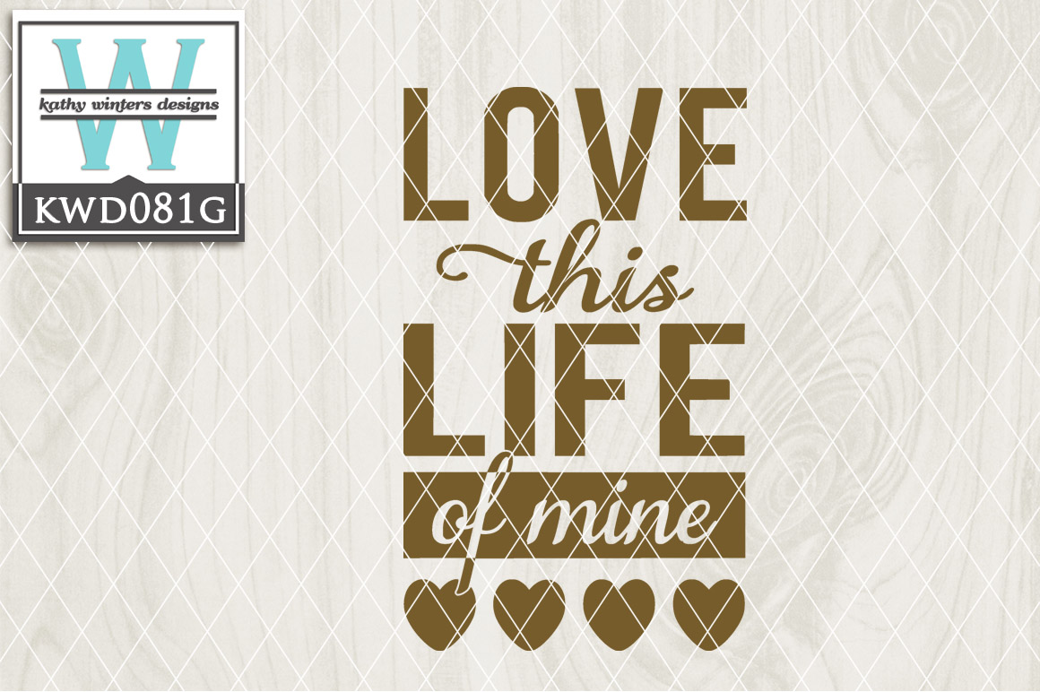 Love Cutting File KWD081G example image 1