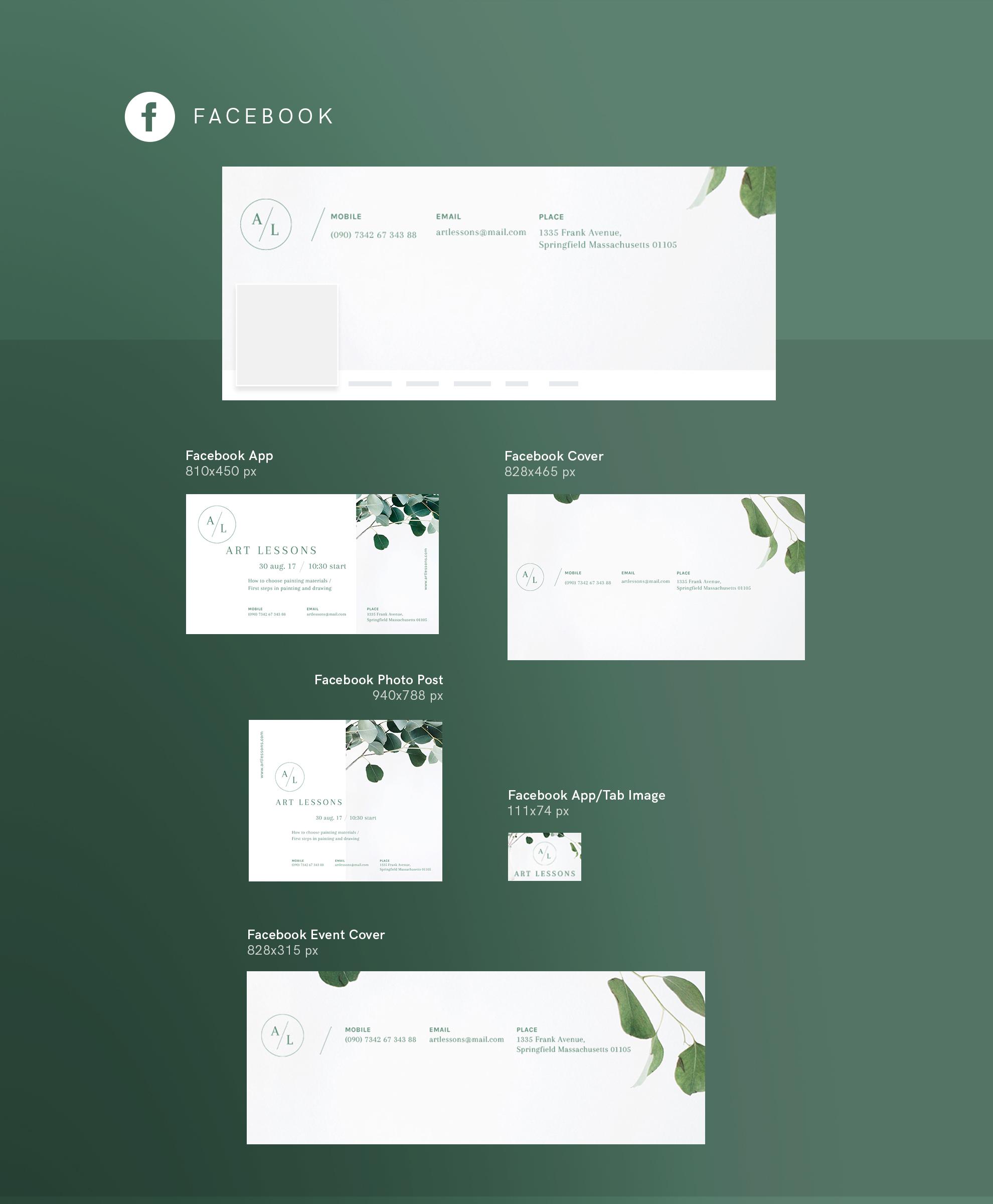 Art Lessons Masterclass Workshop Design Templates Bundle example image 15