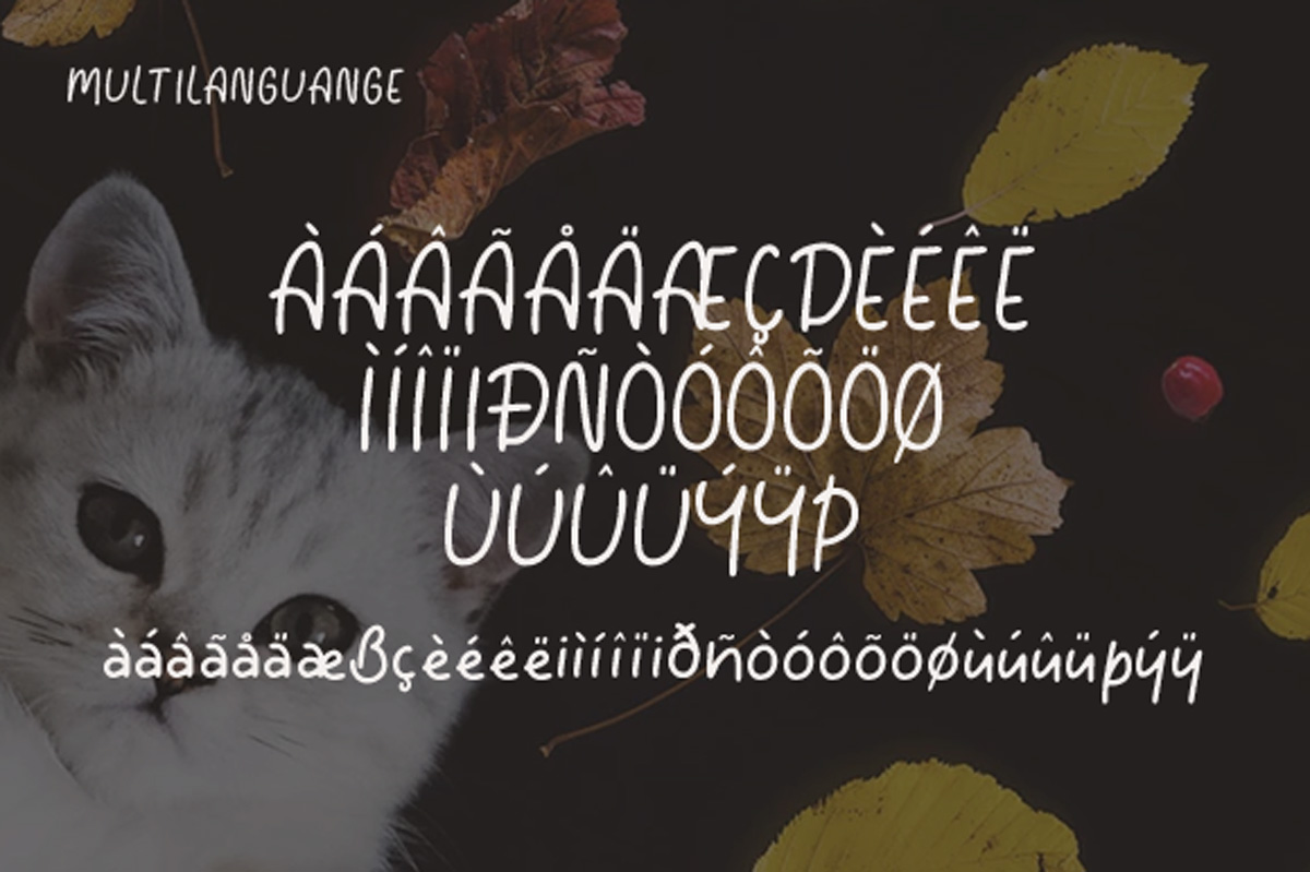 Tomcat - Cheerfull Day Font example image 6